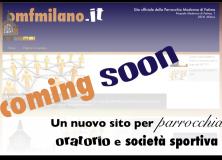 Coming soon - Un nuovo sito per parrocchia, oratorio e società sportiva.