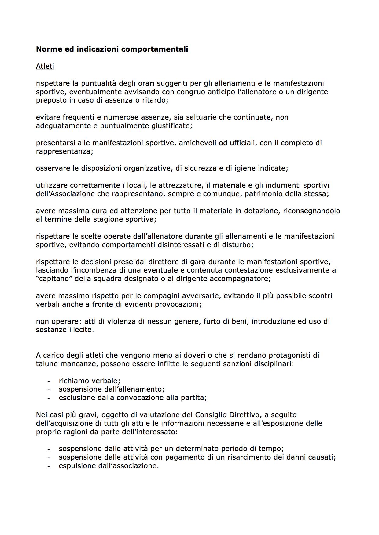 OMF - Regolamento interno 2