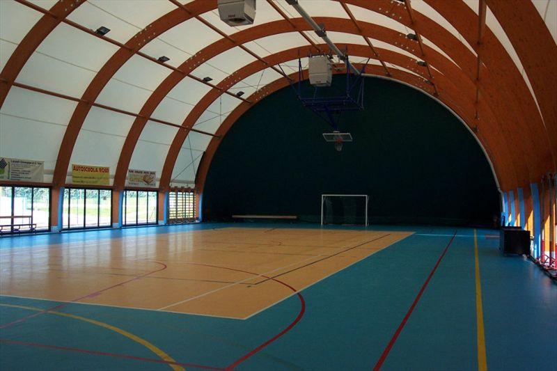 Interno copertura legno